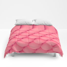 Pink Tubes Comforters