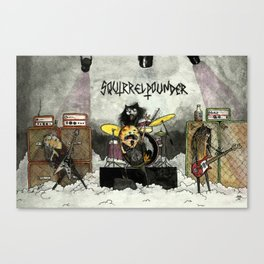 Squirrelpounder Canvas Print