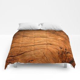 Wood Texture 99 Comforters