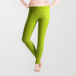 Lime Punch - Fashion Color Trend Spring/Summer 2018 Leggings