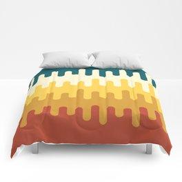 paint pattern Comforters