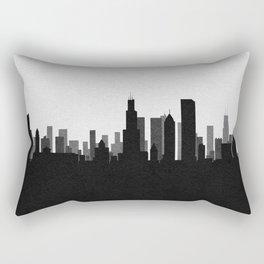 City Skylines: Chicago Rectangular Pillow