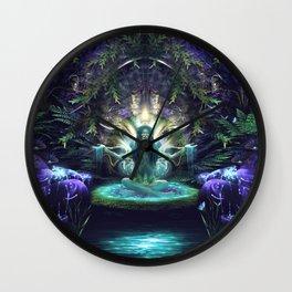 Convalescence - Visionary - Fractal - Manafold Art Wall Clock