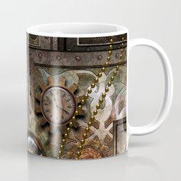 Steampunk, wonderful clockwork with gears Coffee Mug