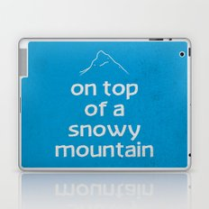 Snowy Mountain Laptop & iPad Skin