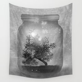 Black and White - Saving Nature Wall Tapestry