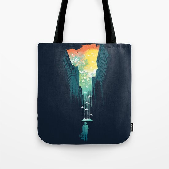 I Want My Blue Sky Tote Bag