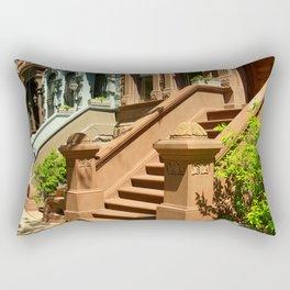 New York Manhattan Upper West Side Townhomes Rectangular Pillow