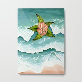 Star fish (Estrellita de mar) Metal Print