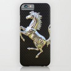 Ferrari chrome emblem  iPhone 6 Slim Case
