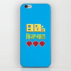 Eighties Love iPhone & iPod Skin