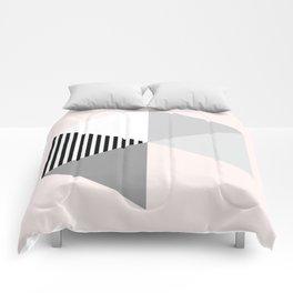 Minimalist Geometric Comforters