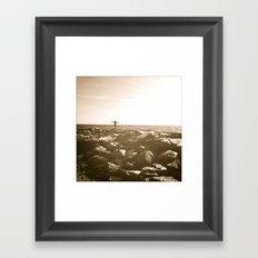 Queen of the Beach Framed Art Print