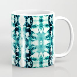 Tie-Dye Teals Coffee Mug