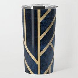 Art Deco Midnight Travel Mug
