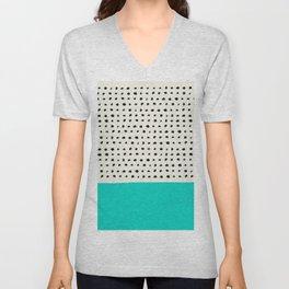 Aqua x Dots Unisex V-Neck