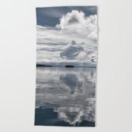 Sea 3 Beach Towel