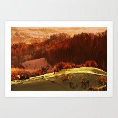 Rubrum Art Print