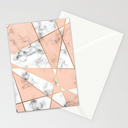 Marble Geometry 050 Stationery Cards