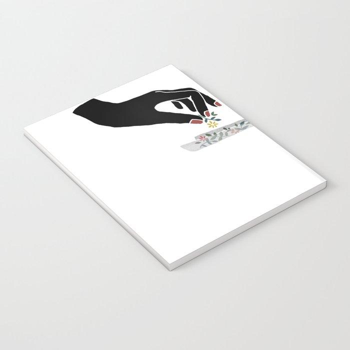 Flower roll / Illustration Notebook