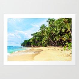 Tropical Beach - Landscape Nature Photography Art Print