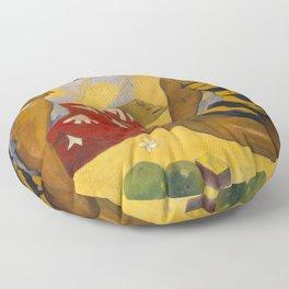 """Paul Gauguin """"Femmes sur la plage (Women on the beach)"""" 1892 Floor Pillow"""