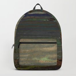 Tom Thomson Grey Day, Giant's Tomb 1914 Canadian Landscape Artist Backpack