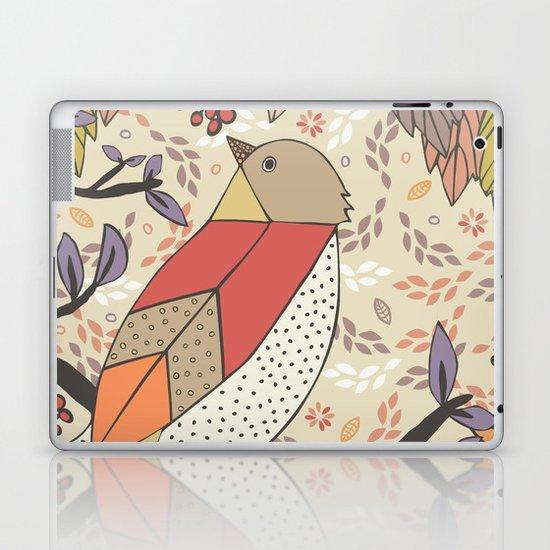 Singing Red Bird Laptop & iPad Skin