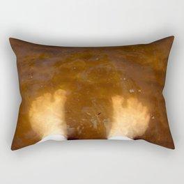 Toes in Murky Water Rectangular Pillow