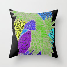 Flying Bird Throw Pillow