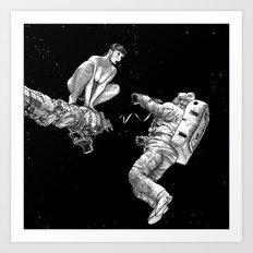 asc 578 - La séparation (Cutting the cord) Art Print
