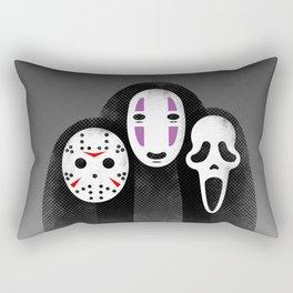 The Three MASKeteers Rectangular Pillow