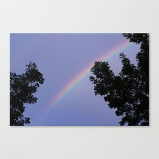 purple rain. Canvas Print