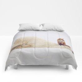 Foxy takedown Comforters