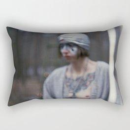 no canary at night Rectangular Pillow