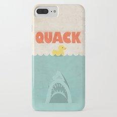 Jaws Rubber Duck iPhone 7 Plus Slim Case