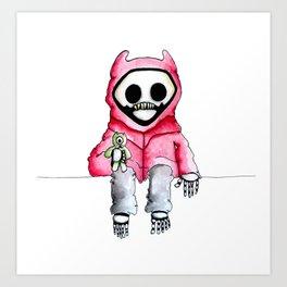 Kid Death Art Print