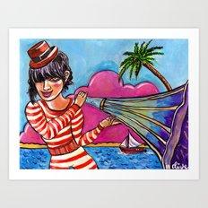 The Sound of Paradise Art Print