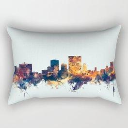 El Paso Texas Skyline Rectangular Pillow