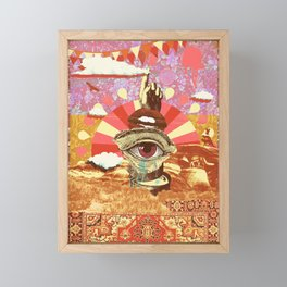 AFTERNOON PSYCHEDELIA REDUX Framed Mini Art Print