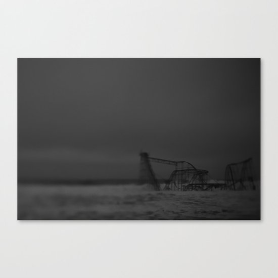 The Jet Star, After Sandy Canvas Print