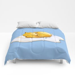 Sunny-side Up Cat Comforters