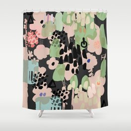 spring 2 modern contemporary Shower Curtain