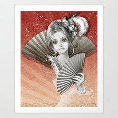 My Antoinette Art Print