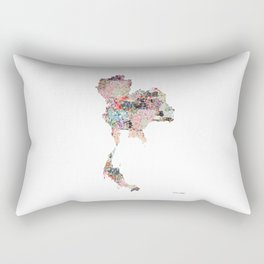 Thailand map Rectangular Pillow