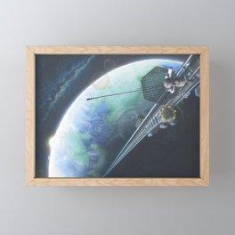Babel Framed Mini Art Print