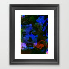 Cool Blues  Framed Art Print