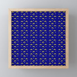 Flying saucer 5 Framed Mini Art Print