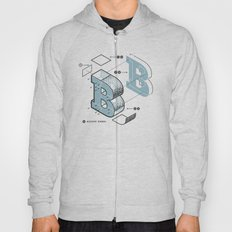 The Exploded Alphabet / B Hoody