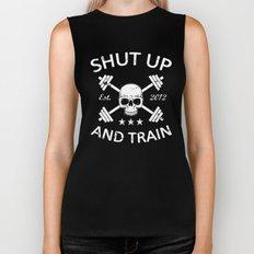 Shut Up and Train Biker Tank